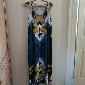 Ny Collection Maxi dress. Jersey fabric, multiple